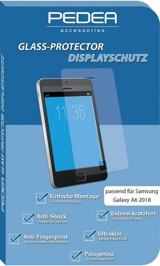 PEDEA Schutzglas »Display-Schutzglas für Samsung Galaxy A6 2018«