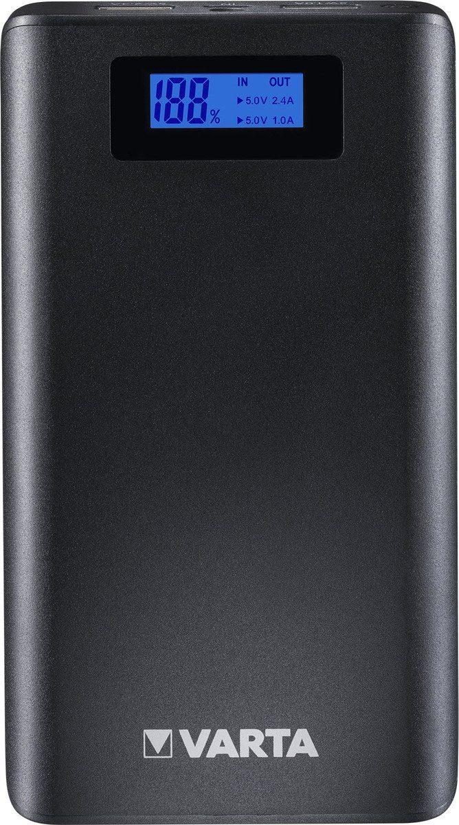 Varta Lader »Portable LCD Power Bank 13000 mAh + Ladekabel«