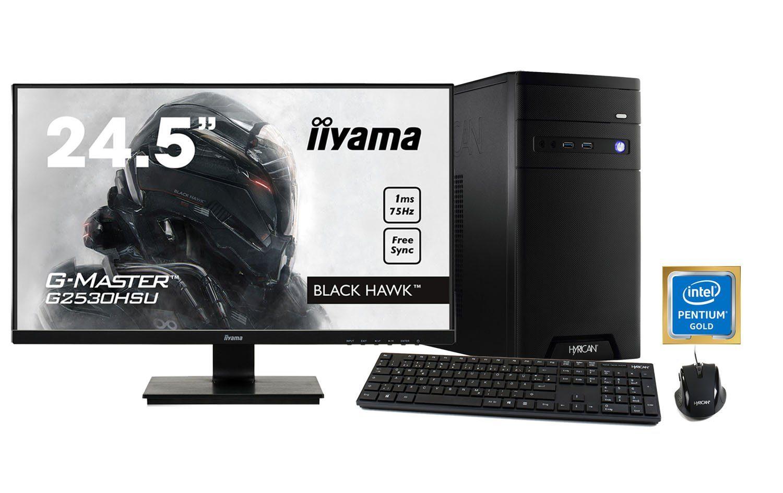 HYRICAN CyberGamer Pentium G5400 8GB 1TB HDD GeForce® GTX 1050+ Monitor »CyberGamer SET1356«