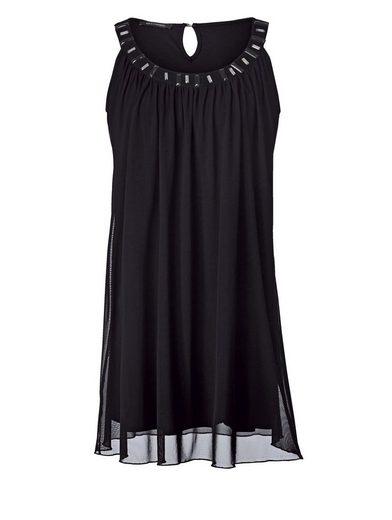Sara Lindholm by Happy Size Jersey-Kleid