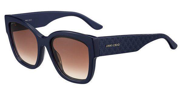 JIMMY CHOO Jimmy Choo Damen Sonnenbrille » ROXIE/S«, blau, PJP/HA - blau/braun