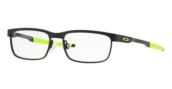 Oakley Herren Brille »STEEL PLATE XS OY3002«, schwarz, 300201 - schwarz
