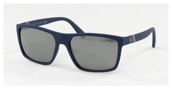 Polo Herren Sonnenbrille » PH4133«, blau, 56186G - blau/silber