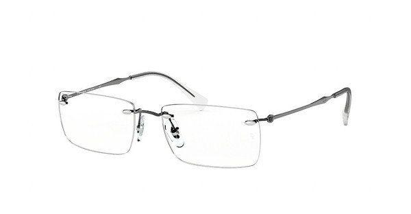 RAY BAN RAY-BAN Herren Brille » RX8755«, grau, 1000 - grau