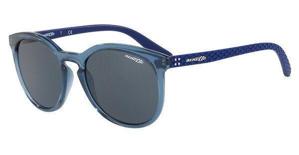 Arnette Herren Sonnenbrille »CHENGA R AN4241«, schwarz, 41/81 - schwarz/grau