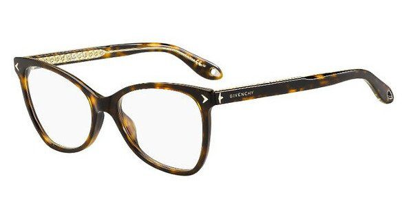 GIVENCHY Givenchy Damen Brille » GV 0075«, schwarz, 807 - schwarz
