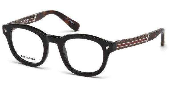 Dsquared2 Brille » DQ5244«, braun, 052 - braun