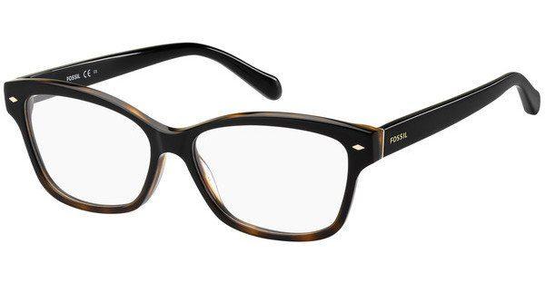 Fossil Damen Brille » FOS 6067«, schwarz, W4A - schwarz