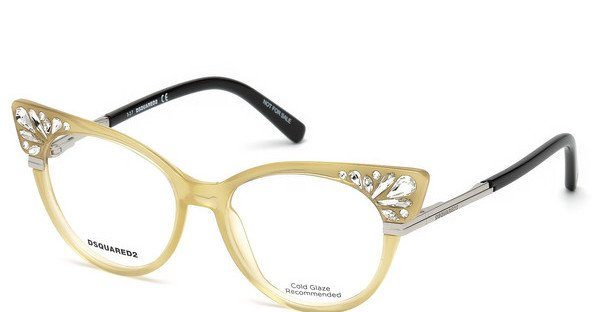 Dsquared2 Damen Brille » DQ5256«, schwarz, 001 - schwarz