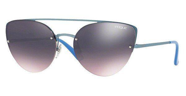 VOGUE Vogue Damen Sonnenbrille » VO4074S«, blau, 5077H9 - blau/blau
