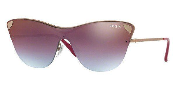 VOGUE Vogue Damen Sonnenbrille » VO4079S«, braun, 5074B7 - braun/blau
