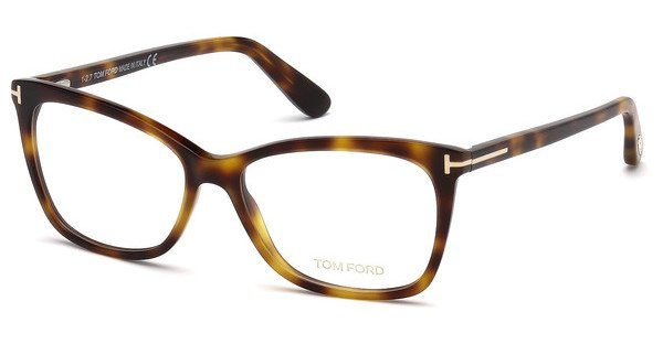 Tom Ford Damen Brille » FT5493«, braun, 052 - braun