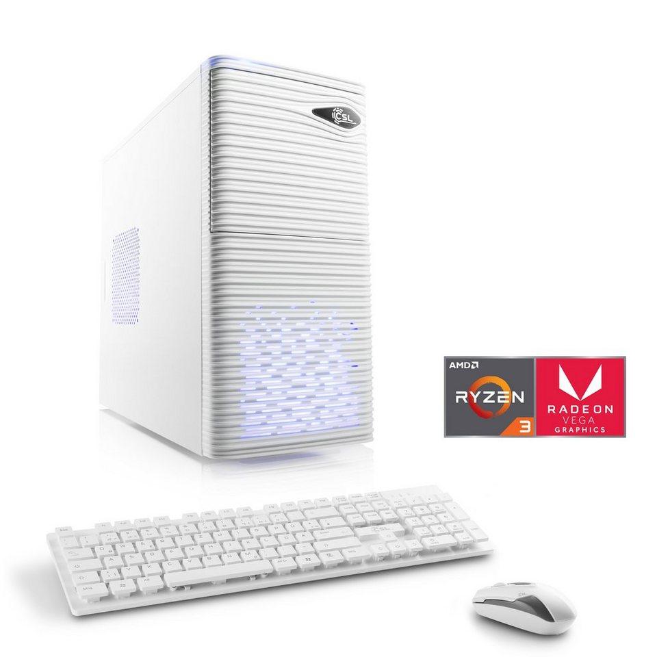 0eba5ab3a17fda CSL Gaming PC   AMD Ryzen 3 2200G   Vega 8 Grafik   8 GB DDR4 ...