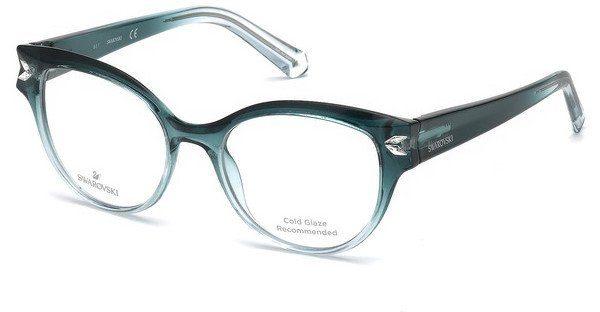 Swarovski Damen Brille » SK5266«, grün, 095 - grün