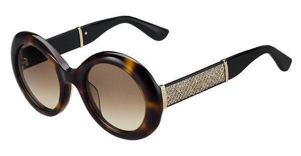 JIMMY CHOO Jimmy Choo Damen Sonnenbrille » WENDY/S«, blau, 175/S1 - blau/braun
