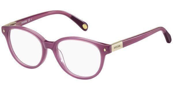 Fossil Damen Brille » FOS 6046«, lila, VYE - lila