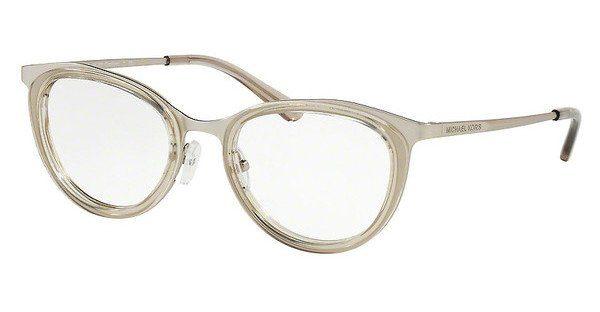 MICHAEL KORS Michael Kors Damen Brille »CAPETOWN MK3021«, lila, 1158 - lila