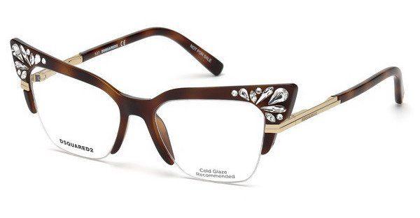 Dsquared2 Damen Brille » DQ5255«, grau, 020 - grau