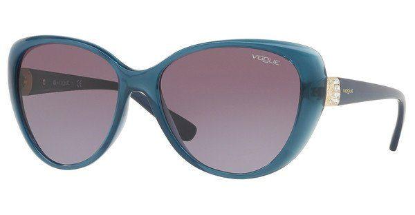 VOGUE Vogue Damen Sonnenbrille » VO5193SB«, blau, 25348H - blau/lila