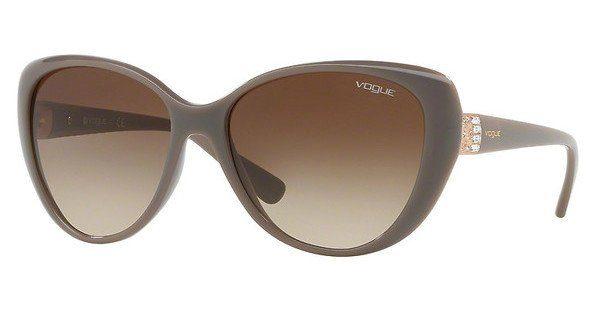 VOGUE Vogue Damen Sonnenbrille » VO5193SB«, braun, 259613 - braun/braun