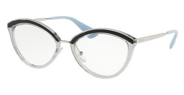 PRADA Prada Damen Brille » PR 14UV«, goldfarben, KNG1O1 - gold