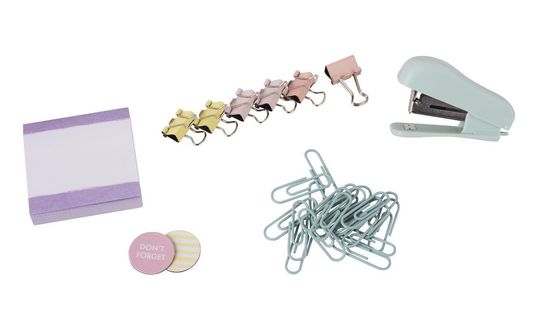 "Mini-Schreibwaren-Set ""Pastell"" 30 Teile"