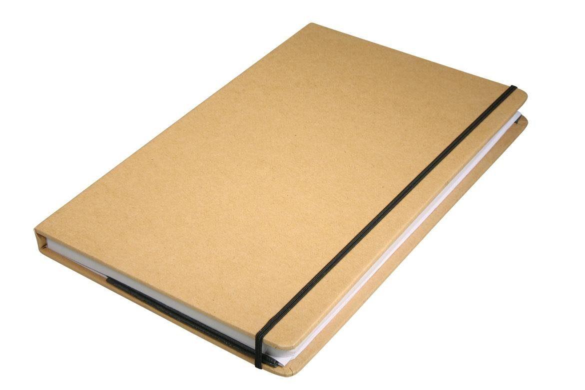 """Kraftpapier-Notizbuch """"DIN A5"""" 100 Seiten"""