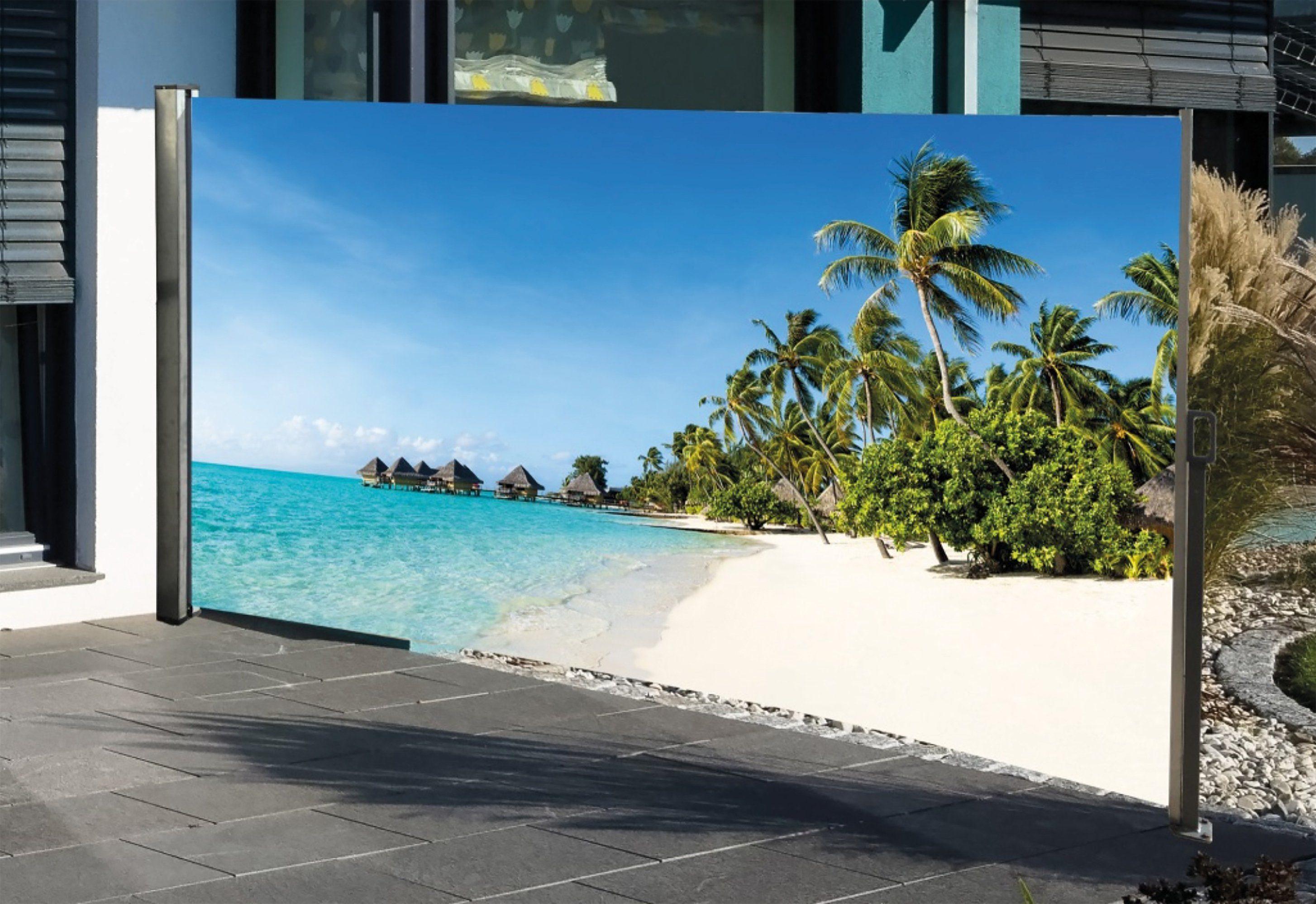HTI-Living Seitenmarkise mit Fotodruck »Südsee«