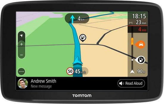 TomTom Navigationsgerät »GO BASIC 15,24 cm (6 Zoll) EU 45«