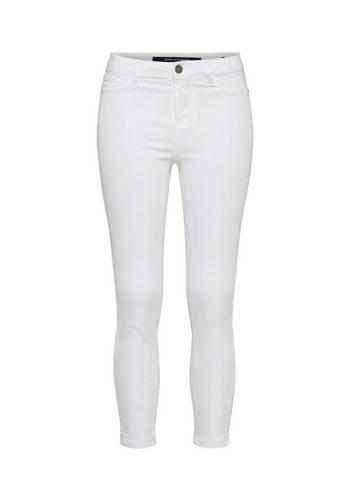Damen BROADWAY NYC FASHION Skinny-fit-Jeans JANE weiß   04059203471779