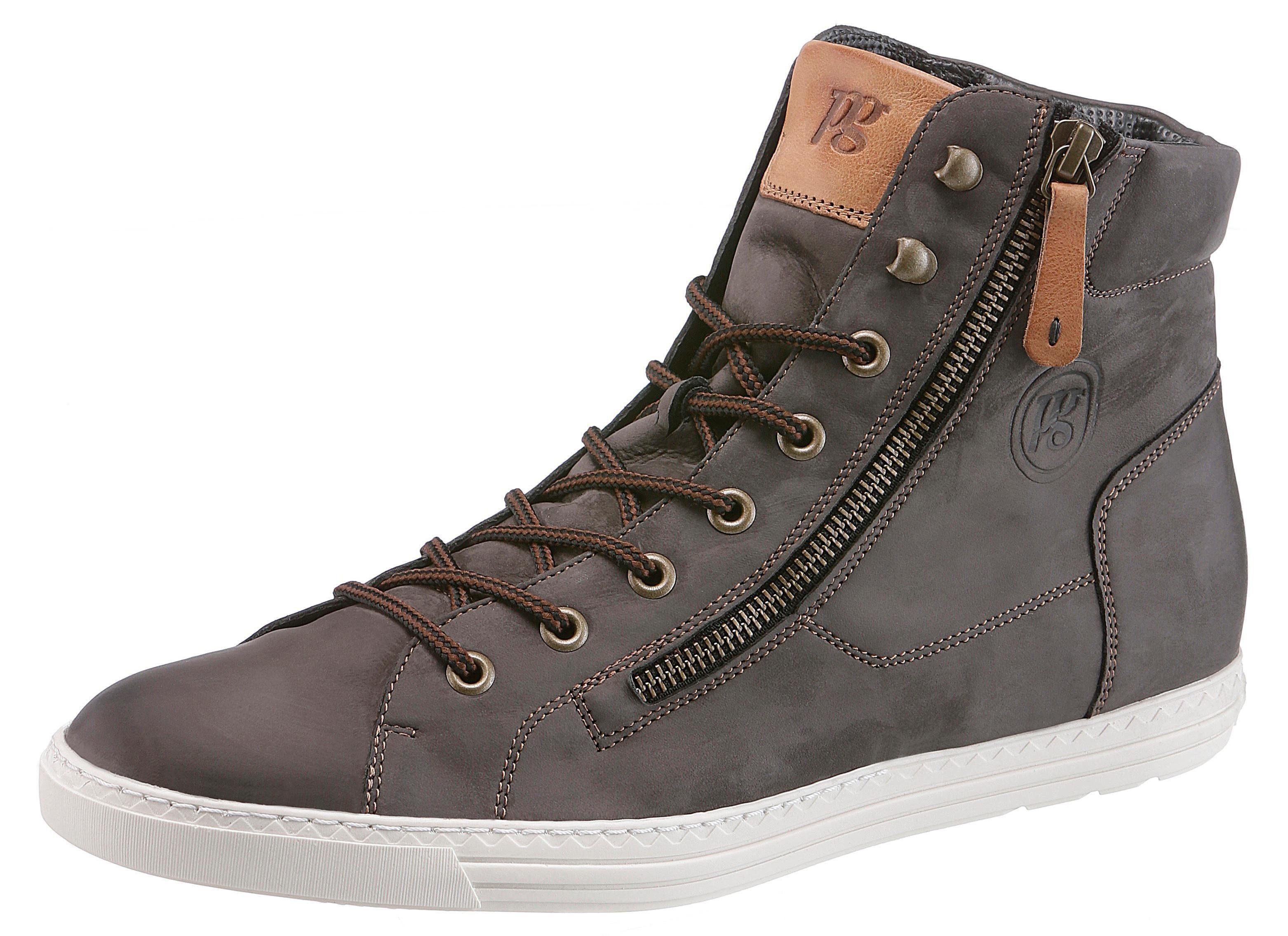 Paul Green Sneaker, mit Außenreißverschluss kaufen  grau