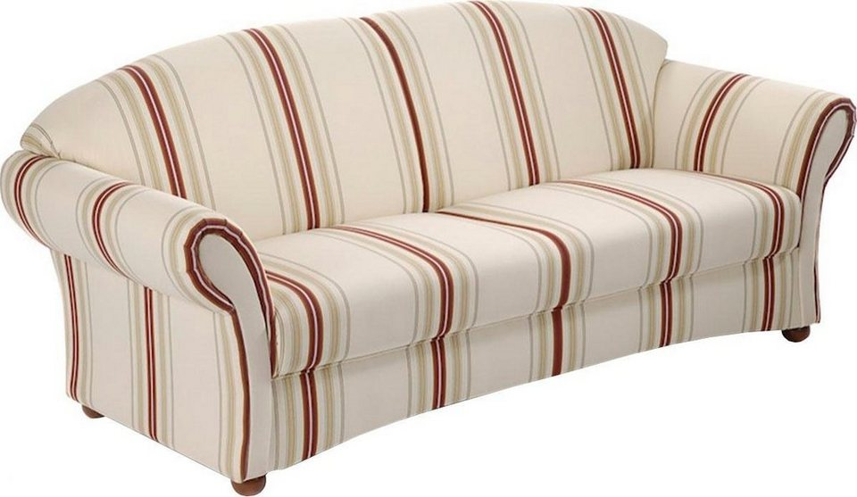 Max Winzer® 2,5-Sitzer Sofa »Carolina« mit Chatosenseitenteilen, mit ...