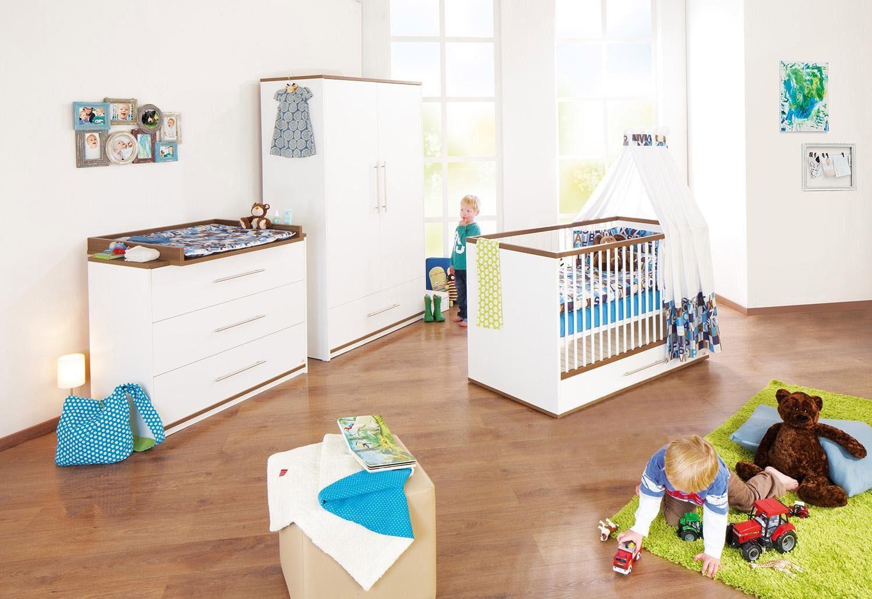 Pinolino Babyzimmer-Set (3-tlg.), Kinderzimmer, »Tuula breit«