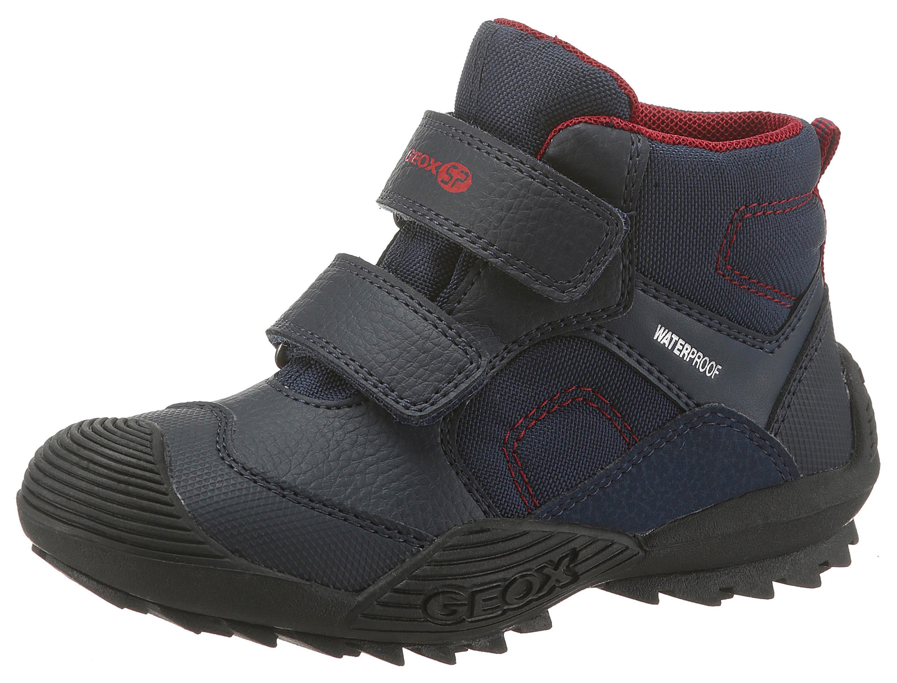 Geox Kids »Atreus Boy Wpf« Stiefel mit zweifachem Klettverschluss