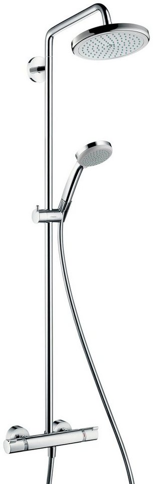 hansgrohe duschsystem showerpipe croma 220 otto. Black Bedroom Furniture Sets. Home Design Ideas