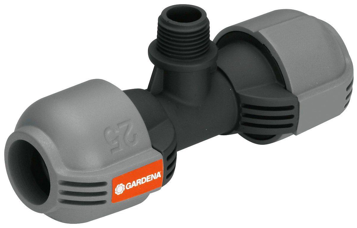 GARDENA T-Stück »Sprinklersystem, 02786-20«, 25 mm x 1/2 Zoll Außengewinde