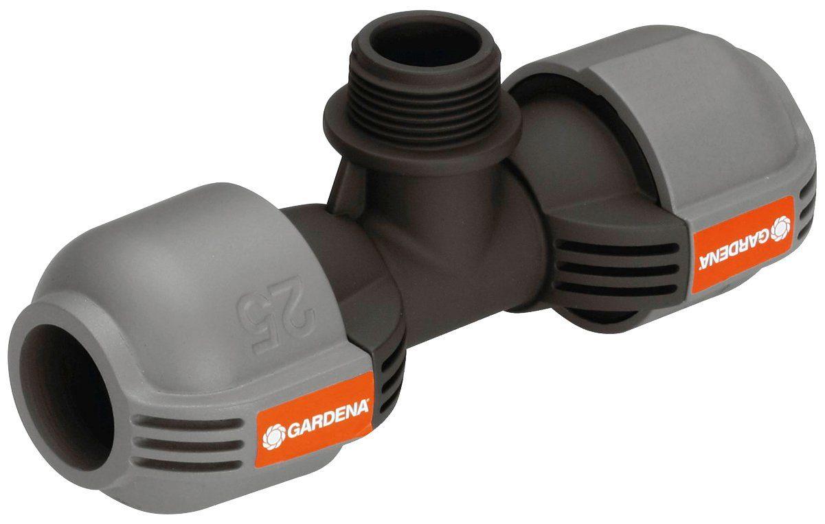 GARDENA T-Stück »Sprinklersystem, 02787-20«, 25 mm x 3/4 Zoll Außengewinde