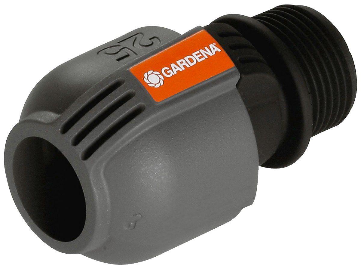 """GARDENA Verbinder »Sprinklersystem, 02763-20«, 25 mm x 1""""-Außengewinde"""