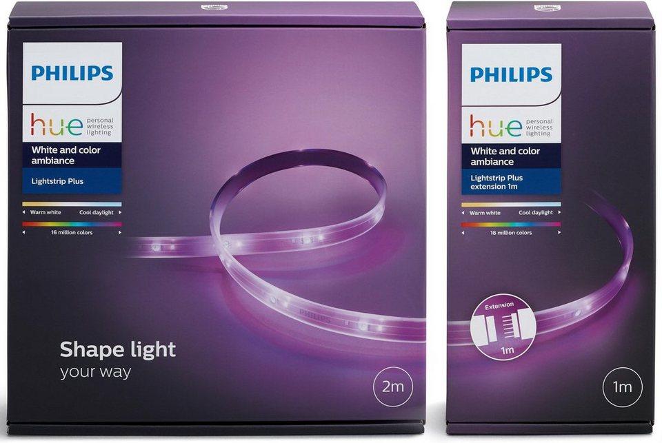 philips hue lightstrip 300 cm base 200 cm erweiterung. Black Bedroom Furniture Sets. Home Design Ideas