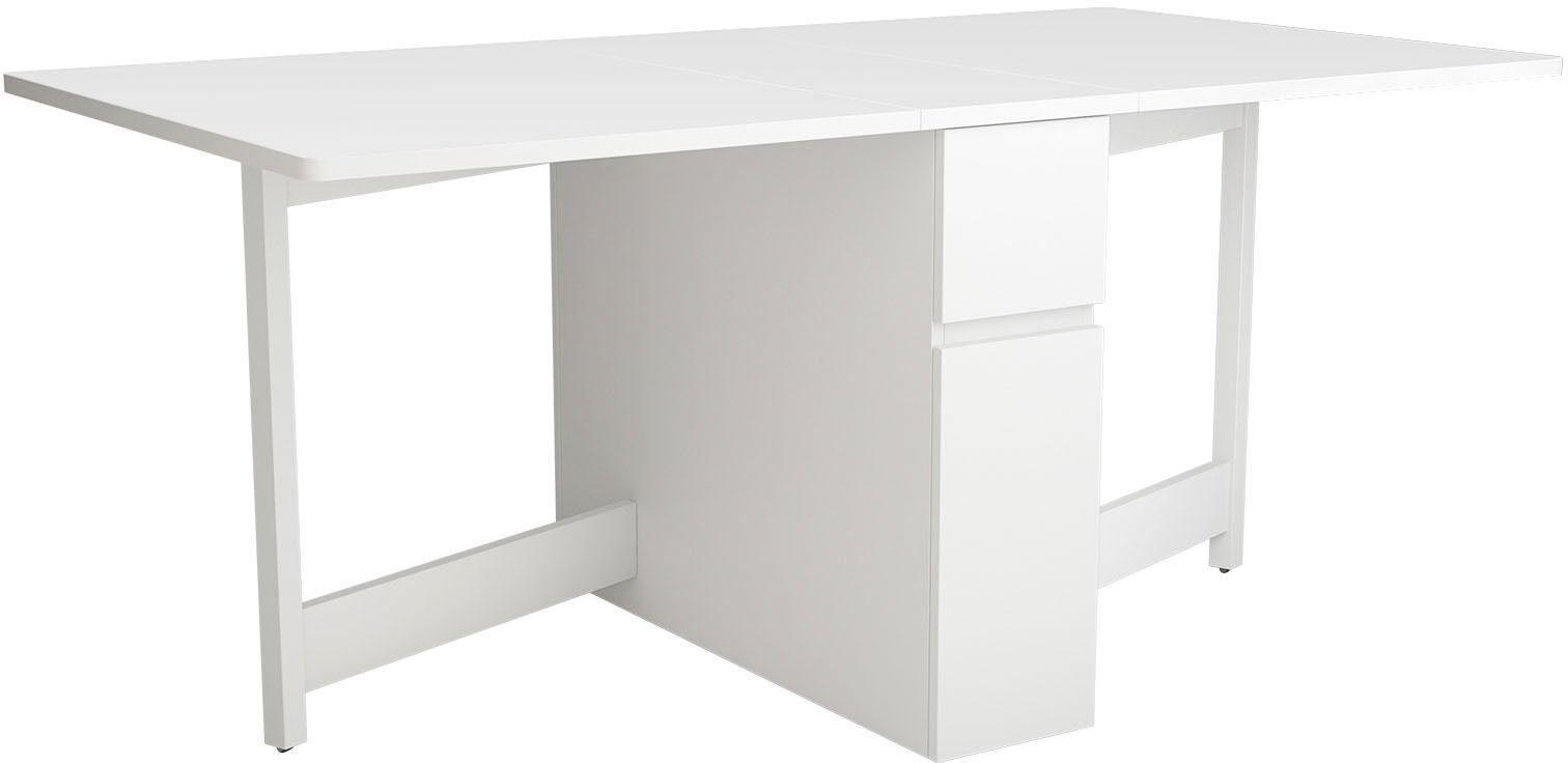 Woodman Esstisch »Jasper«, mit einer rechteckigen Tischplatte und Auszugsfunktion, Breite 90 cm