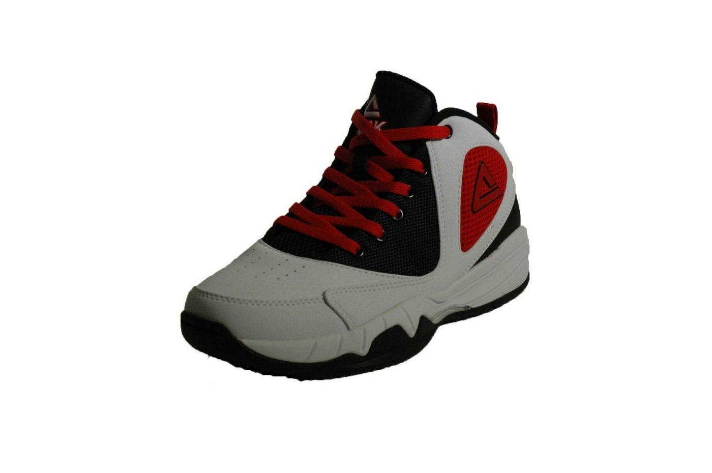 PEAK Basketballschuh mit gezähnter Sohle »Monster« | Schuhe > Sportschuhe > Basketballschuhe | Weiß | PEAK