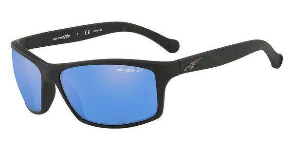 Arnette Herren Sonnenbrille »BOILER AN4207«, schwarz, 225387 - schwarz/grau