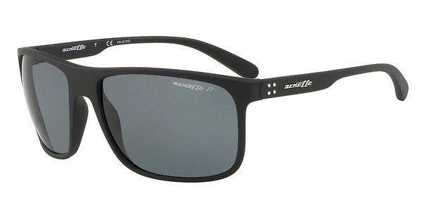 Arnette Herren Sonnenbrille »BUSHING AN4244«, schwarz, 01/81 - schwarz/grau