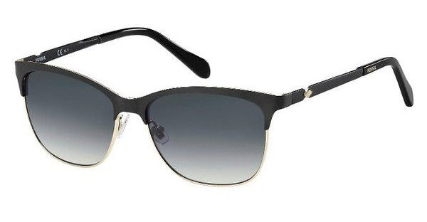 Fossil Damen Sonnenbrille » FOS 2078/S«, blau, FLL/KM - blau/grau