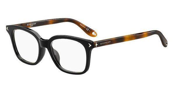GIVENCHY Givenchy Brille » GV 0068/F«, schwarz, WR7 - schwarz