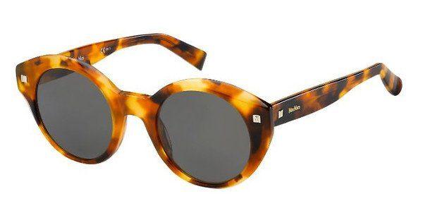 Max Mara Damen Sonnenbrille » MM DOTS I«, rot, 0UC/KU - rot/blau