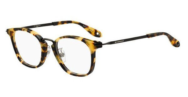GIVENCHY Givenchy Brille » GV 0070/F«, schwarz, 807 - schwarz