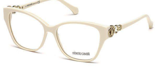 roberto cavalli Roberto Cavalli Damen Brille » RC5058«, weiß, 021 - weiß