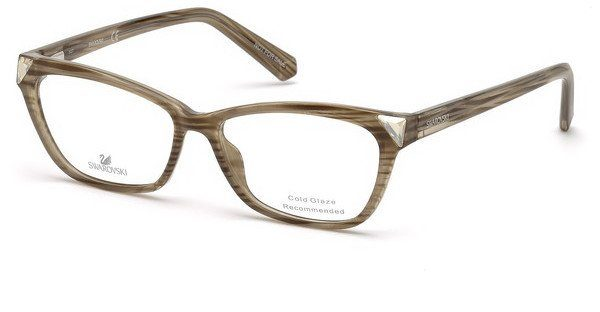 Swarovski Damen Brille » SK5269«, braun, 047 - braun