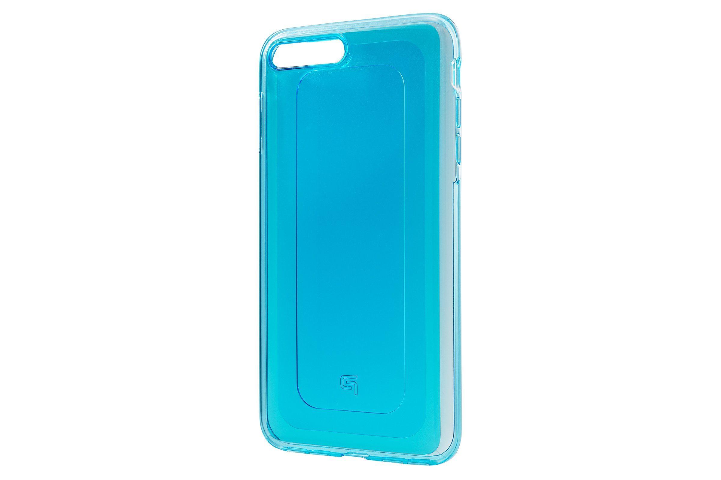 GRAMAS Schutzhülle »GHC456PBL Gems Hybrid Hülle iPhone 8/7 Plus blau«
